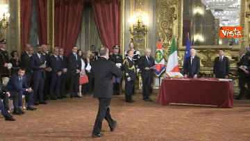 1 - Il giuramento di Bonisoli, ministro dei Beni Culturali