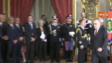 3 - Il giuramento di Bonisoli, ministro dei Beni Culturali
