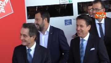 1 - Il presidente Conte e il ministro Salvini aprono la 58esima edizione del Salone del Mobile