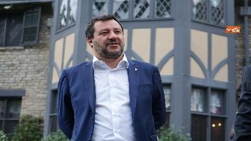 1 - Salvini a villa Firenze