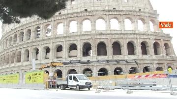 6 - Colosseo deserto, continuano i lavori della metro C
