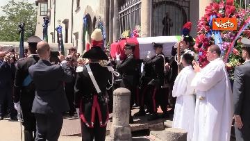 9 - Funerali di Stato per Mario Cerciello Rega, il carabiniere ucciso a Roma. Le immagini