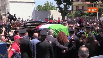4 - Funerali di Stato per Mario Cerciello Rega, il carabiniere ucciso a Roma. Le immagini