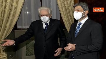 1 - Consultazioni, il presidente della Camera Roberto Fico arriva al Quirinale. Le immagini