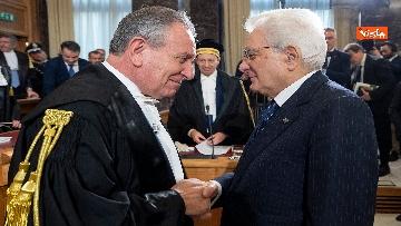 6 - Mattarella all'inaugurazione dell'anno giudiziario della Corte dei Conti, le immagini