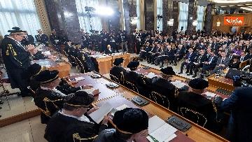 7 - Mattarella all'inaugurazione dell'anno giudiziario della Corte dei Conti, le immagini
