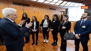 5 - Mattarella all'inaugurazione dell'anno giudiziario della Corte dei Conti, le immagini