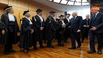 2 - Mattarella all'inaugurazione dell'anno giudiziario della Corte dei Conti, le immagini