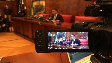 7 - Di Maio in conferenza stampa al Mise dopo incontro con industriali e piccole e medie imprese