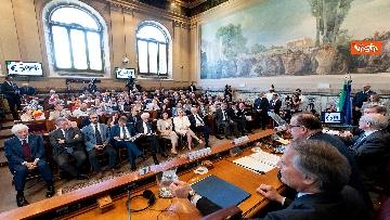 2 - Mattarella alla riunione annuale dei Presidenti e Segretari Generali dei Cnel europei