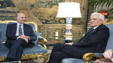 2 - Mattarella incontra il Commissario per gli Affari Economici dell'Ue, Pierre Moscovici
