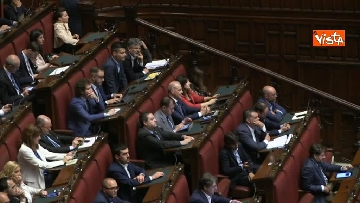 3 - Luigi Di Maio riferisce in aula sul tema sicurezza sul lavoro