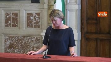 6 - Beatrice Lorenzin al termine delle Consultazioni
