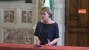 2 - Beatrice Lorenzin al termine delle Consultazioni