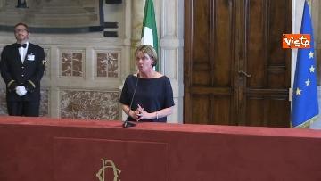 1 - Beatrice Lorenzin al termine delle Consultazioni