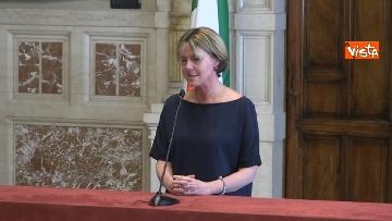 5 - Beatrice Lorenzin al termine delle Consultazioni