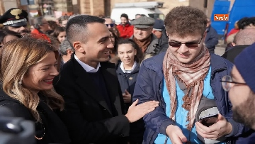 11 - Elezioni regionali Abruzzo, Di Maio e Di Battista a Penne per sostenere candidata M5s Sara Marcozzi