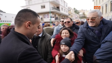 15 - Elezioni regionali Abruzzo, Di Maio e Di Battista a Penne per sostenere candidata M5s Sara Marcozzi