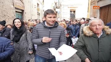 14 - Elezioni regionali Abruzzo, Di Maio e Di Battista a Penne per sostenere candidata M5s Sara Marcozzi