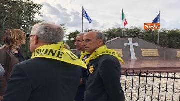 4 - Preparativi a Cefalonia per accogliere Mattarella al monumento ai caduti italiani della brigata Aqui