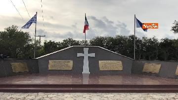 6 - Preparativi a Cefalonia per accogliere Mattarella al monumento ai caduti italiani della brigata Aqui