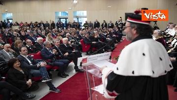 12 - Mattarella all'inaugurazione dell'anno accademico Università di Teramo, le immagini