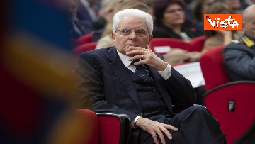 10 - Mattarella all'inaugurazione dell'anno accademico Università di Teramo, le immagini