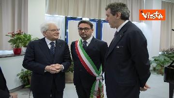 5 - Mattarella all'inaugurazione dell'anno accademico Università di Teramo, le immagini