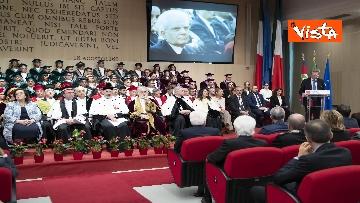 9 - Mattarella all'inaugurazione dell'anno accademico Università di Teramo, le immagini