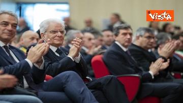 11 - Mattarella all'inaugurazione dell'anno accademico Università di Teramo, le immagini
