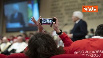 14 - Mattarella all'inaugurazione dell'anno accademico Università di Teramo, le immagini