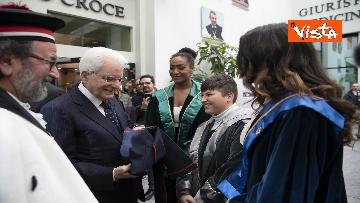 21 - Mattarella all'inaugurazione dell'anno accademico Università di Teramo, le immagini