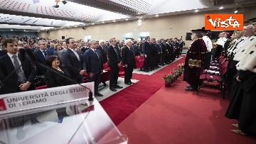 6 - Mattarella all'inaugurazione dell'anno accademico Università di Teramo, le immagini
