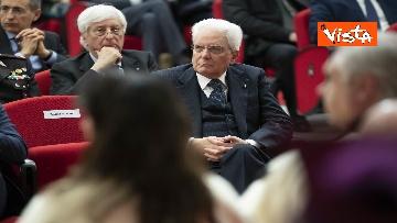20 - Mattarella all'inaugurazione dell'anno accademico Università di Teramo, le immagini