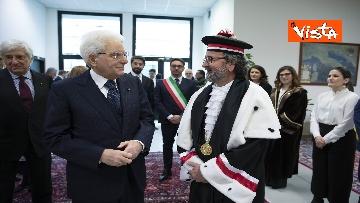 4 - Mattarella all'inaugurazione dell'anno accademico Università di Teramo, le immagini