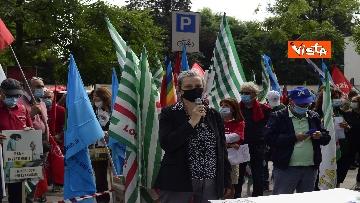 3 - Presidio Cgil, Cisl e Uil palazzo Lombardia a Milano, le foto della manifestazione