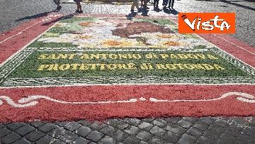 2 - San Pietro e Paolo, tappeto di colori a Via della Conciliazione per la tradizionale infiorata