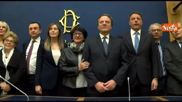 10 - Tragedia Erasmus Spagna, Renzi e Boschi  in conferenza con familiari vittime, immagini