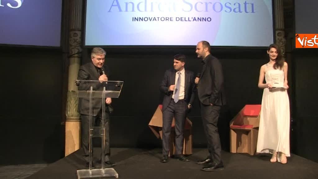 Vespa, Scrosati e Le Iene premiati da The New's Room, il primo bimestrale italiano fatto da Under 35_15