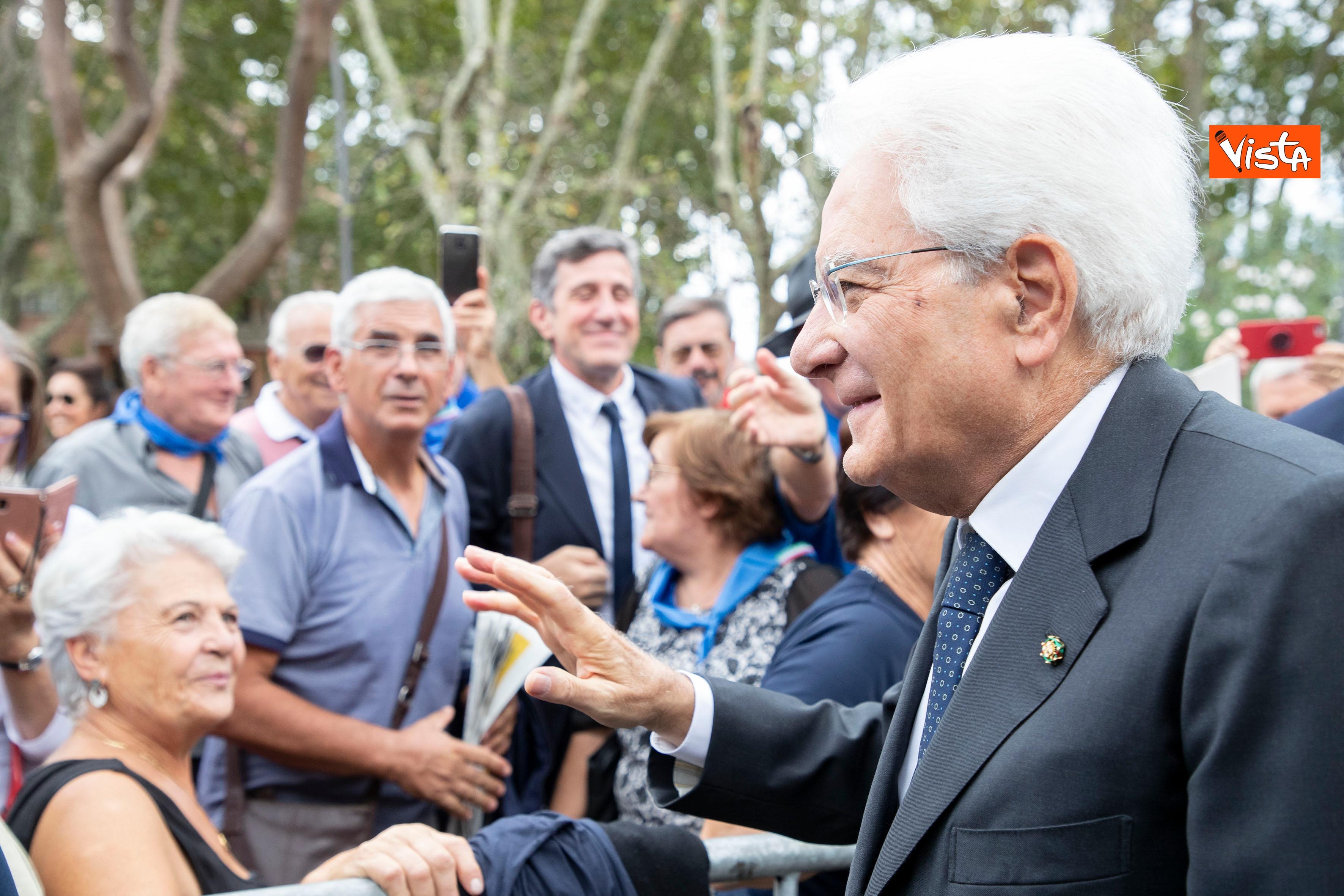 08-09-19 Mattarella depone corona d'alloro a Porta San Paolo per l'anniversario della difesa di Roma_11