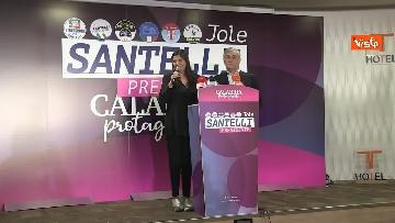 5 - Jole Santelli vince in Calabria, la conferenza stampa il giorno dopo il voto, immagini