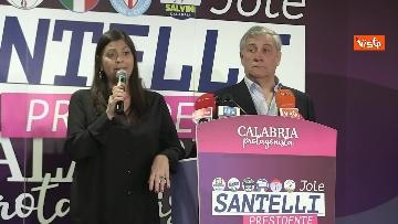 9 - Jole Santelli vince in Calabria, la conferenza stampa il giorno dopo il voto, immagini