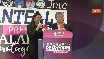 3 - Jole Santelli vince in Calabria, la conferenza stampa il giorno dopo il voto, immagini