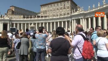 7 - Papa Francesco nel Regina Coeli della domenica