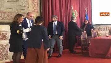 7 - Cerimonia del Ventaglio a Montecitorio, Fico incontra la stampa parlamentare immagini
