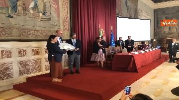 9 - Cerimonia del Ventaglio a Montecitorio, Fico incontra la stampa parlamentare immagini