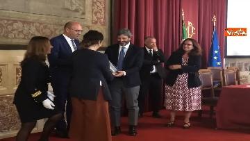 4 - Cerimonia del Ventaglio a Montecitorio, Fico incontra la stampa parlamentare immagini