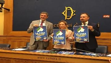 7 - Case popolari, la proposta della giunta abruzzese, la conferenza con Meloni e Marsilio