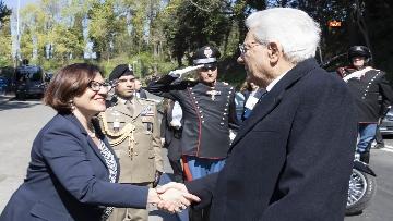 1 - Mattarella alla cerimonia commemorativa del 75° anniversario dell'eccidio delle Fosse Ardeatine