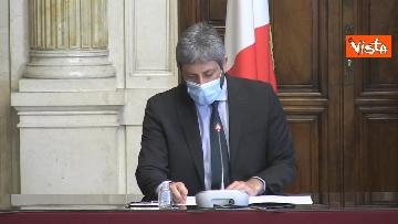 1 -  Accordo tra Camera e Crui per tirocini studenti a Montecitorio. Le immagini della firma di Fico